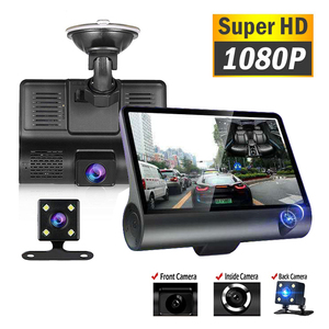 Q12 Car DVR Dash Camera Rear View Video Recorder 4