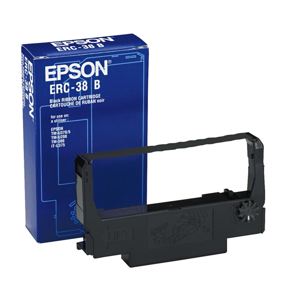 Original Dot Matrix Tape Epson C43S015374 Black