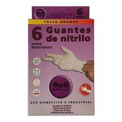 Jednorazowe rękawice nitrylowe lateksowe | Foma Pack 8 sztuk