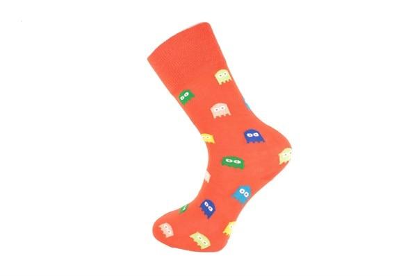 – Men's Plaid Embroidered Socks – Men's Socks Affordable – 6 Pairs Men's Socks – Men's Socks – Color Socks