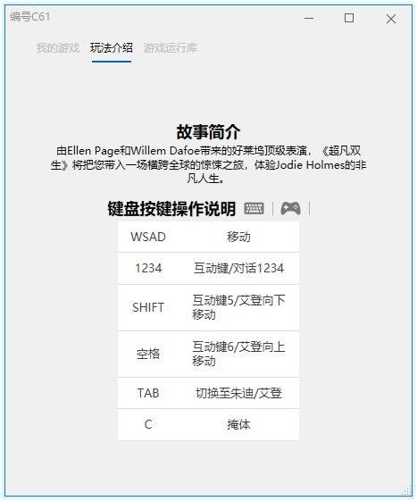 《超凡双生/超凡人生》中文版pc游戏-我爱搜-技术资源屋
