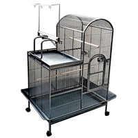 Grande cage de plus de 160 cm avec parc à l'étranger pour oiseaux comme les Yacos soit taille moyenne comme perroquet Royal