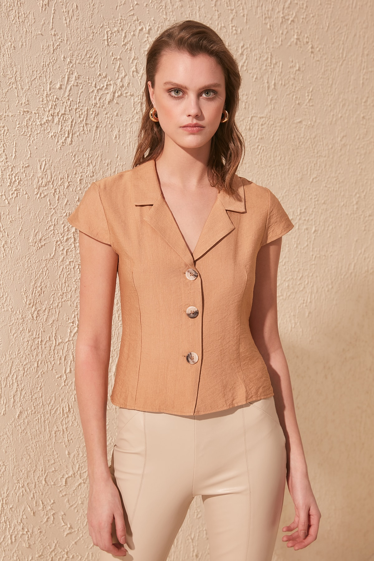 Trendyol Sleeveless Shirt TWOSS20GO0299