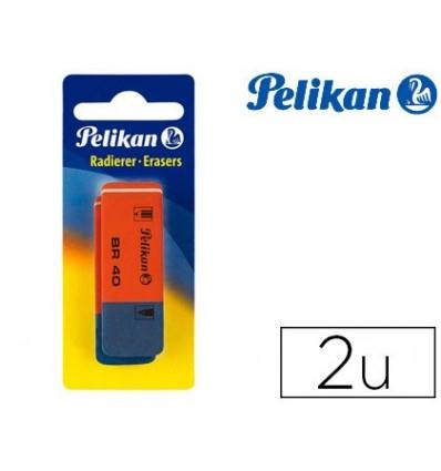 ERASER PELIKAN BR 40 BLISTER 2 PCS