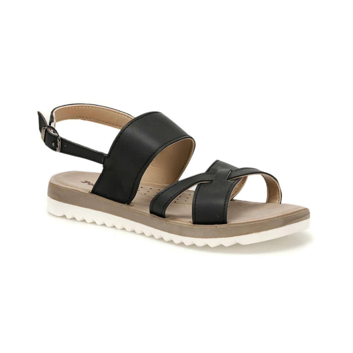 FLO 91.313639.Z Black Women Sandals Polaris