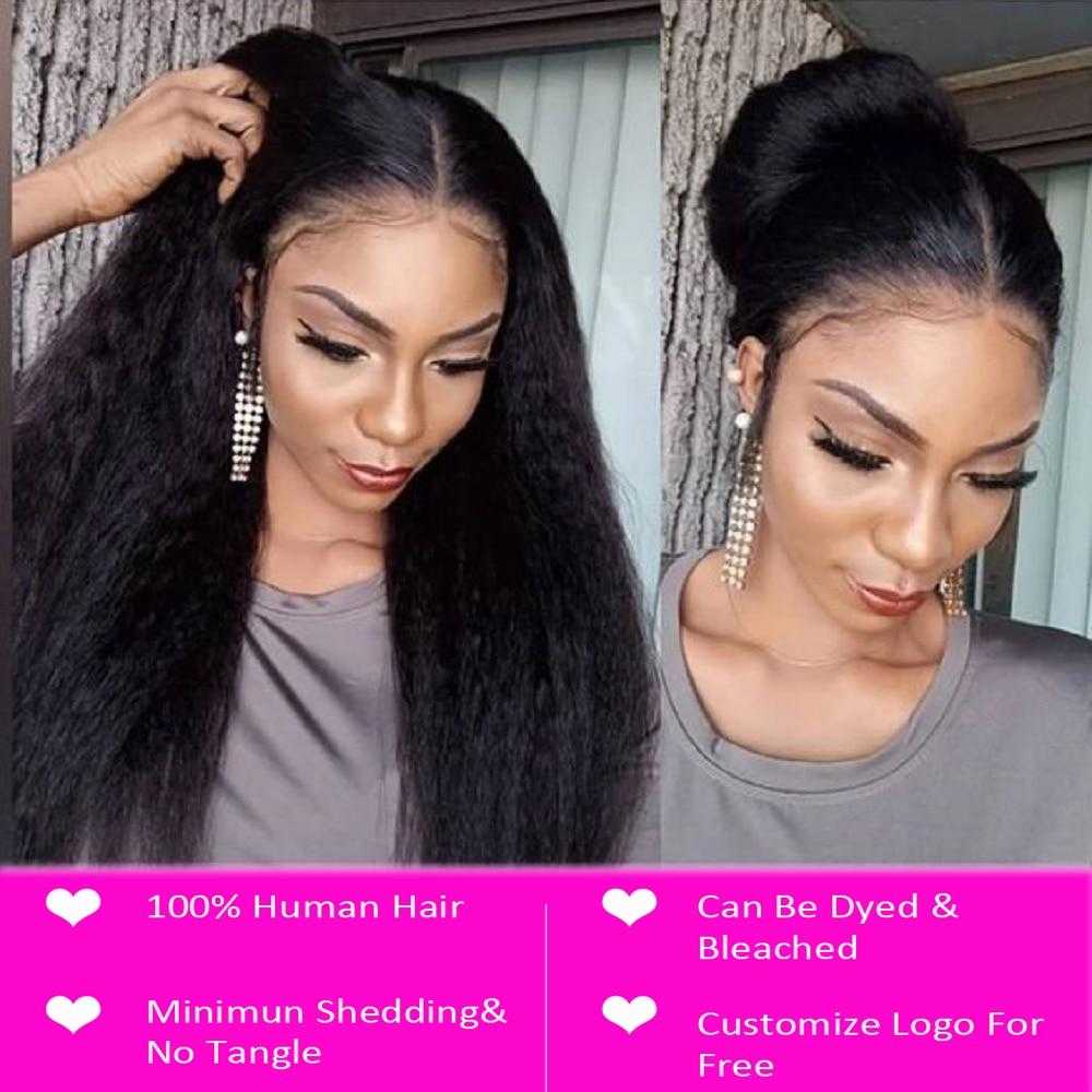 Kinky Straight Bundles With Closure   3 Bundles With Closure Beaudiva  Hair Closure With Bundles 2