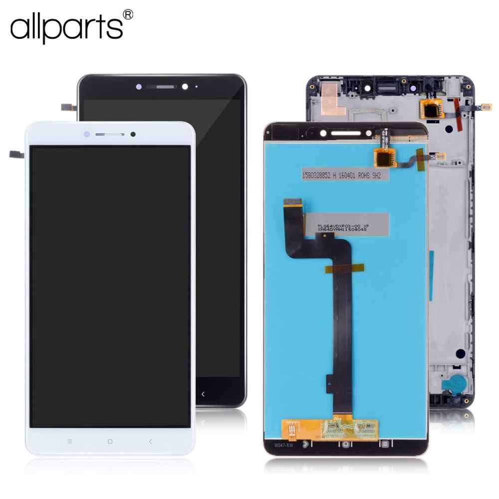 "6.44"" Original  Touch Screen Display For XIAOMI Mi Max LCD Screen Display with Frame For Xiaomi Mi Max LCD Replacement Parts"