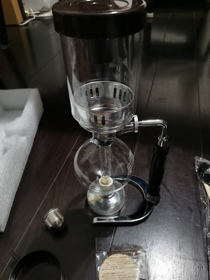 Siphon Coffee Maker 300/500ml photo review