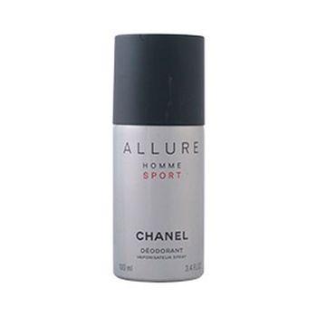 Desodorante en aerosol encanto Homme deporte Chanel (100 ml)