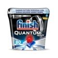 Finish Quantum Max Spülmaschine Waschmittel 80 Kapseln Spezielle Lagerung Box