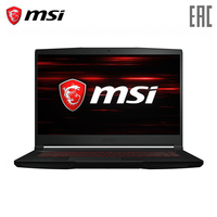 Laptop gaming MSI GF63 9RCX 889XRU 15.6 FHD 60Hz/Intel i7 9750H/8 GB/512 GB SSD /GTX 1050 Ti 4 GB/DOS/Black (9S7 16R312 889)