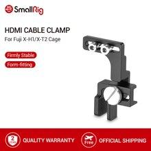 SmallRig X H1/X T2 HDMI Cavo Morsetto Per Fuji X H1 e Fuji X T2 Gabbia Fotocamera HDMI Cavo di Protezione Morsetto 2156
