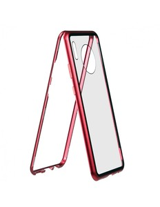 Красный магнитный чехол для Huawei Mate 30