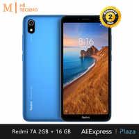 Xiaomi Redmi 7A Smartphone (2 hard GB RAM, 16 hard GB ROM, phone mobile, free, new, cheap, Dual SIM, 4000mAh battery, Android) [Global Version]