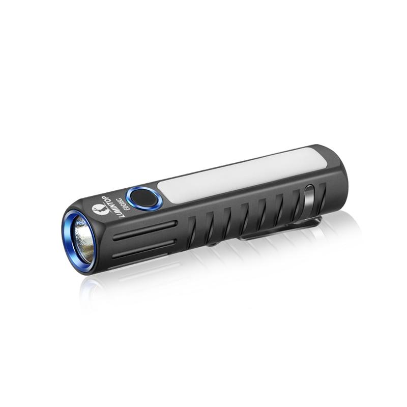 Lumintop EDC05C XHP35 HI + 4x Nichia NCSLE17 LED 7Modes Micro USB Rechargeable Flashlight EDC Flashlight Mini Torch Led Keychain