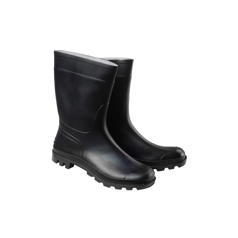 Rubber Boots Black Low NO. 44 (Pair)