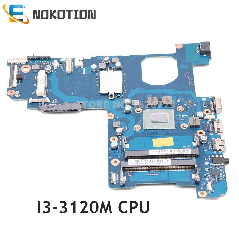 NOKOTION BA92-12189A BA92-12172A BA92-12117A BA41-02206A For Samsung NP270 NP270E5E 270E5E NP300E5E 300E5E PC Motherboard I3 CPU