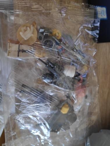 8Pcs/set DIY Ninja Action Figures Building Blocks Skeleton Soldiers Warrior Samurai Anime Movie Assembled Mini Bricks Toys Kids photo review
