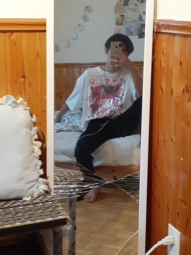 E-girl Gothic Harajuku T-shirt with anime print photo review