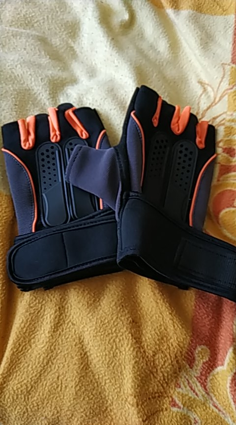 Half-Finger Workout Gloves photo review