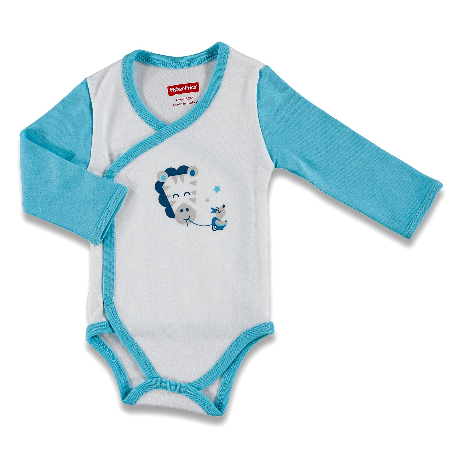 Ebebek Fisher Price Play With Me Baby Long Sleeve Bodysuits