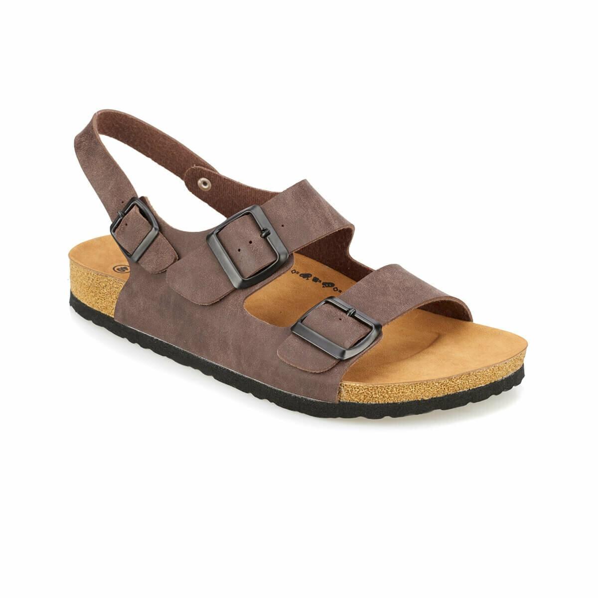 FLO Men Sandals Summer Season Comfortable Fashion Brown Male Sandals Мужские сандалии FEDON KINETIX