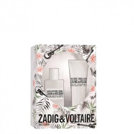 ZADIG & VOLTAIRE THIS IS HER EDP SPRAY 30ML + LOCION CORPORAL 75 ML