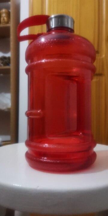 Soffe 2.2L Large Capcity 1/2 Gallon Water Bottle Bpa Free Shaker Protein Plastic Sport Water Bottles Handgrip Gym Fitness Kettle Water Bottles    - AliExpress