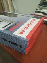 It reached the Moscow region in 4 days. A little crumpled box. In the frost, the battery o