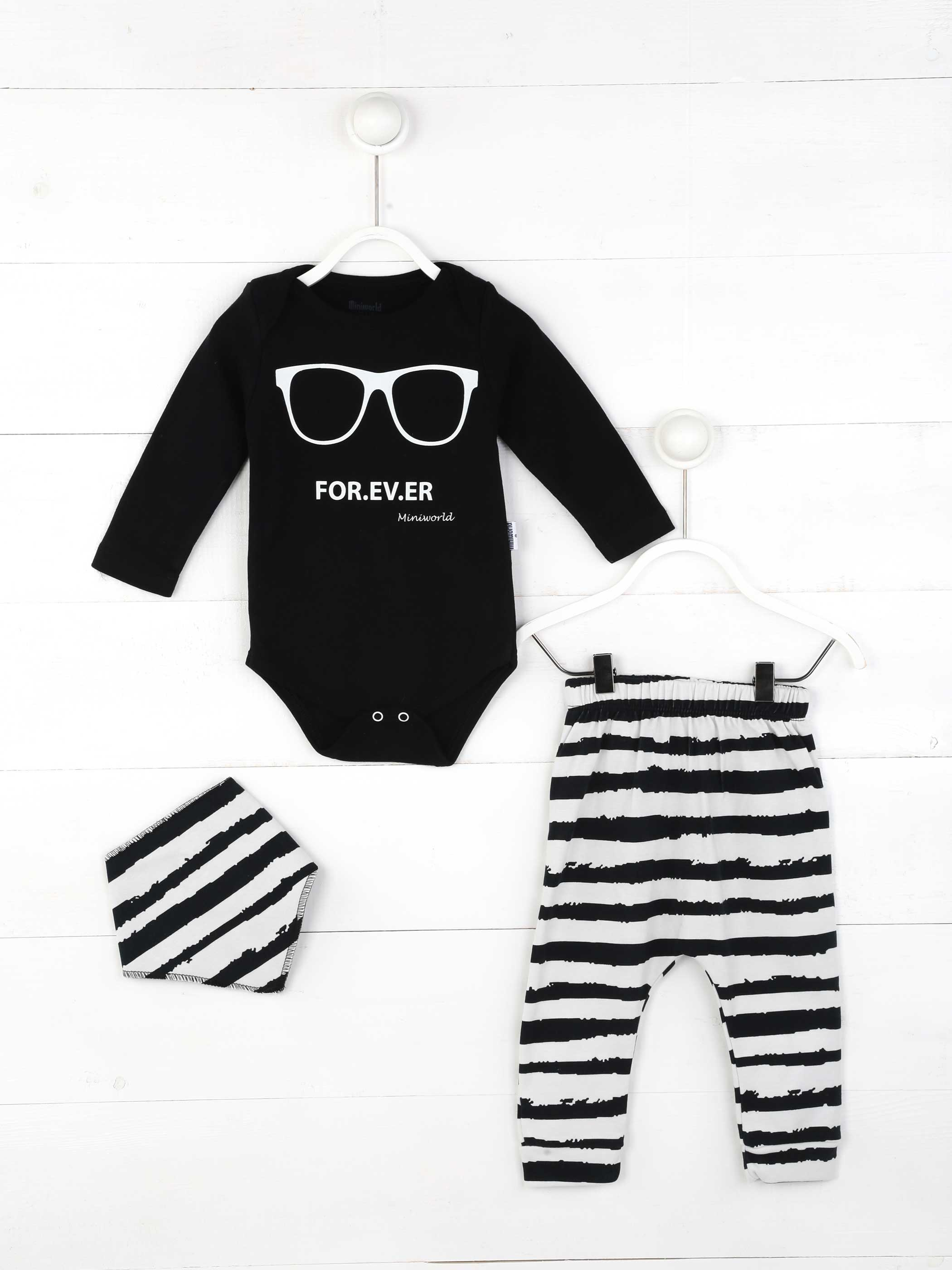 Girl Boy Babies Clothing 3-piece Set Cotton Fabric Baby Summer Clothes Gift Daily Casual Stylish Outfit Models