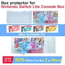 Etui ochronne na konsolę Nintendo Switch LIte wykonane na zamówienie idealny rozmiar PET przezroczysty z tworzywa sztucznego