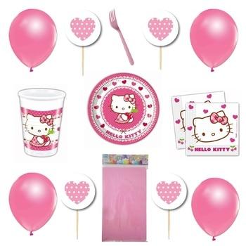 Hello Kitty Presentation Party Supplies Kit 40 Personality