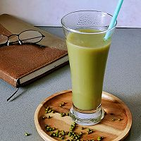 零脂肪❗️好喝不长胖,清清凉凉的绿豆汁的做法图解5