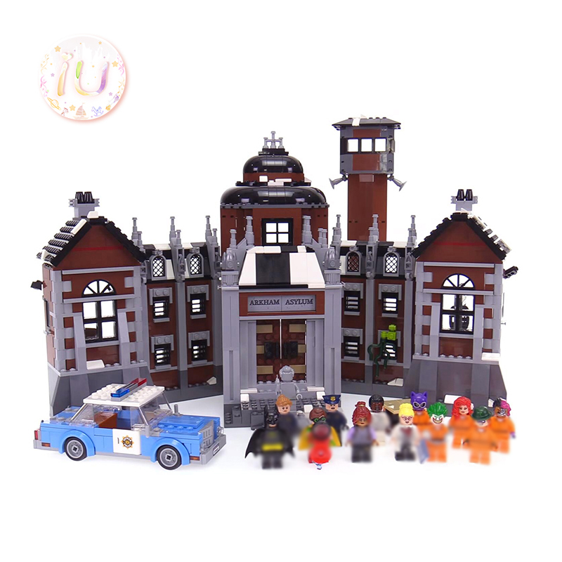 BELA 10741 Super Hero Arkham Asylum Set Model Building Blocks Compatible <font><b>70912</b></font> Birthday Gifts Education Toy For Children 1706Pcs image