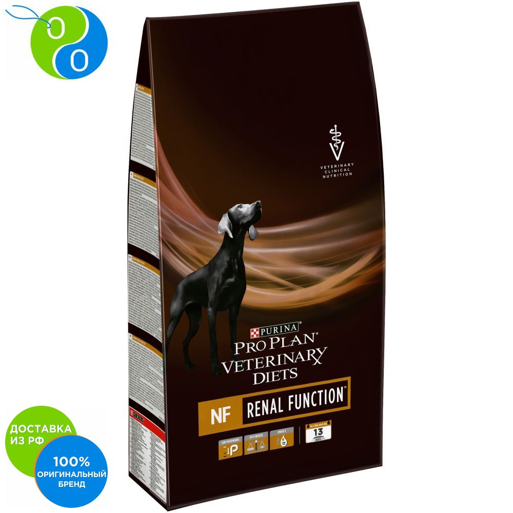 Dry food Pro Plan Veterinary diets NF dog food for kidney pathology package 3 kg,Pro Plan, Pro Plan Veterinary Diets, Purina, Pyrina, Adult, Adult cats Adult dogs for healthy development, for healthy coat and skin, for цена