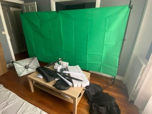 -- Fotografia Studio Softbox