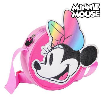 Shoulder Bag 3D Minnie Mouse 72883 Pink car roof light a c volume knobs rear air outlet ring trim for land rover discovery 4 range rover sport freelander 2 accessories