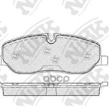 Pn0484-Nibk_!Колодки Дисковые П Land Rover Discovery/Range Rover 4.4i V8/2.7td V6 04 Nibk Pn0484 NiBK арт. PN0484
