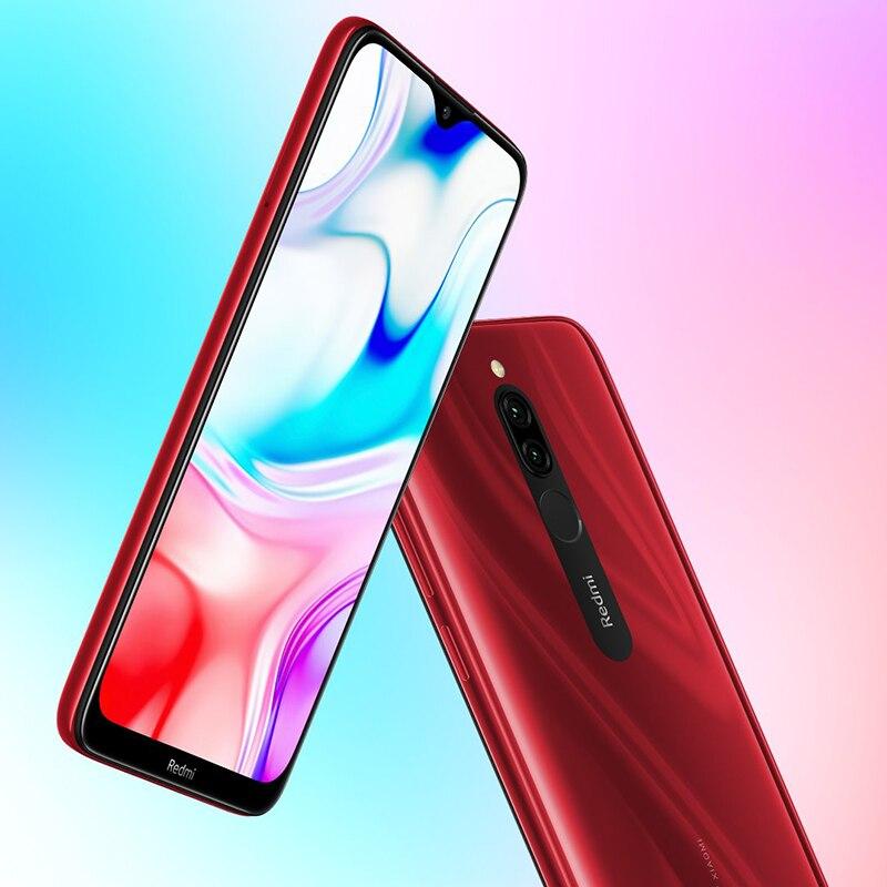 "Image 3 - Global Version Xiaomi Redmi 8 4GB 64GB Smartphone Snapdragon 439 Octa Core 12MP Dual Camera 6.22"" 5000mAh Battery"