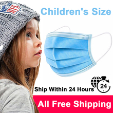 Children Mask Fast Delivery Disposable Mask Protective Mask Safety Masks Dustproof Masks Kids Mask Free Shipping