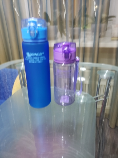 Water Bottle 400ml 560ml Plastic Gourde en Plastique Sport Direct Drinking Shaker Bottles Hiking Portable Bottle For Water-in Water Bottles from Home & Garden on AliExpress