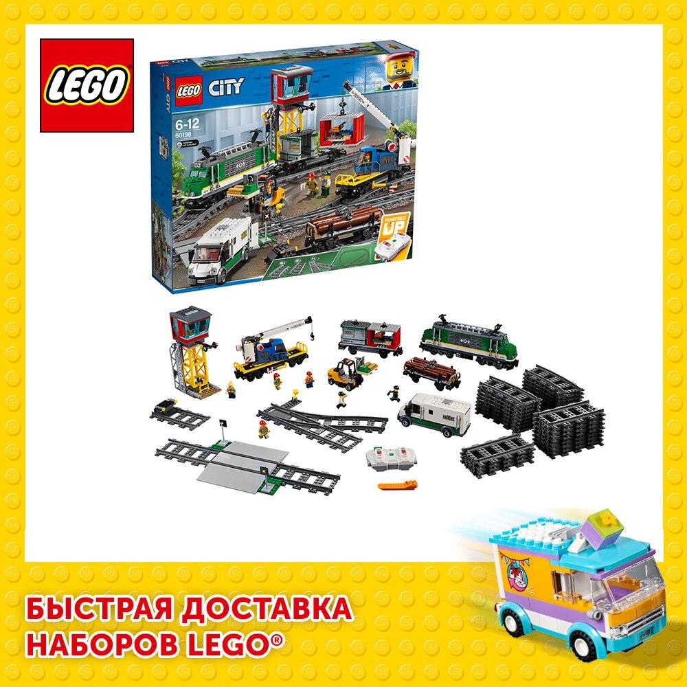Конструктор LEGO City 60198 Товарный поезд