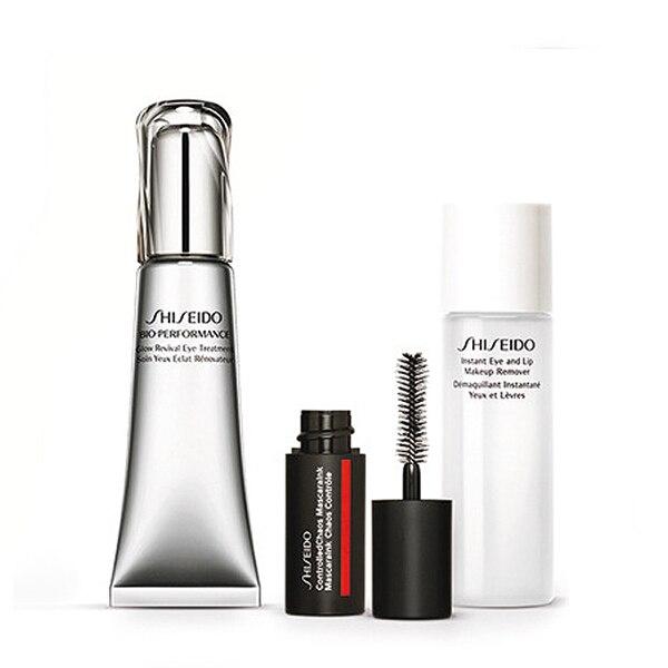Women's Cosmetics Set Bio Performance Glow Revival Eye Shiseido (3 pcs) shiseido bio performance glow revival cream