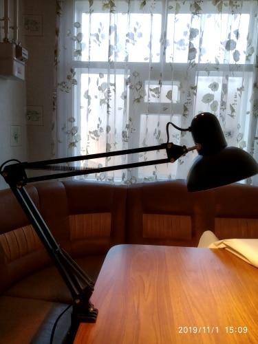 Luminária de mesa Braçadeira Braçadeira Lâmpada