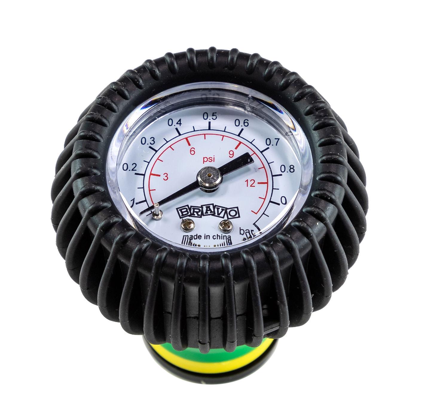 Pressure Gauge SP 119/adj/1.0 For Inflatable Boat, 0-1 Bar R151090