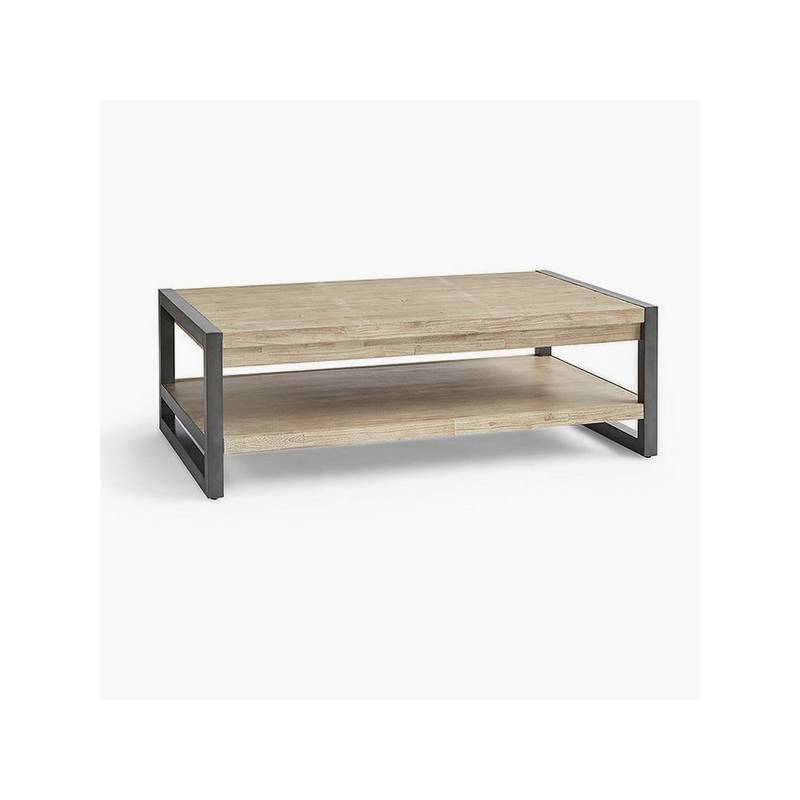 Wooden Coffee Table Acacia (120x70x40 Cm)