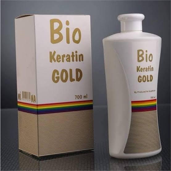 Bio Keratin Gold 700 Ml Brezillian Fön