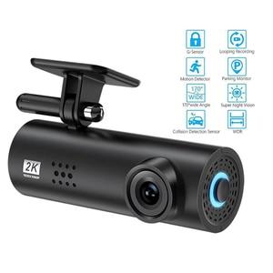 170° Wide Angle Car Video Recorder 1080 HD Night Vision Car Camera Hidden Driving DVR Car Dash Cam G-Sensor Auto DashCam