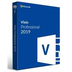 Clave de licencia Digital 2019 profesional de Microsoft Visio (vida útil)