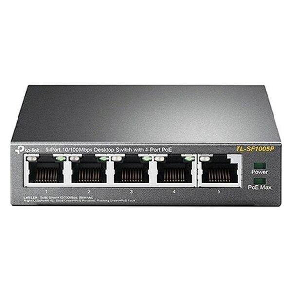 Desktop Switch TP-Link TL-SF1005P PoE LAN 10/100 Metal
